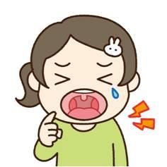 口呼吸と虫歯1